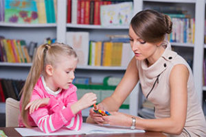 Child and Counselor